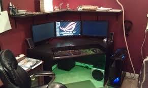 Corner Desk For Computer Beautiful Corner Gaming Computer Desk Ideas Liltigertoo