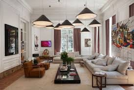 beautiful best furniture for small living room using pendant lamp