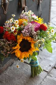 sunflower wedding ideas wedding ideas sunflower and purple wedding bouquets sunflower