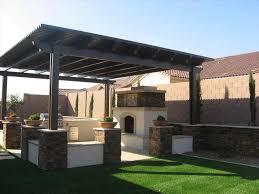 backyard patios flagstone patio with stone fireplace outdoor