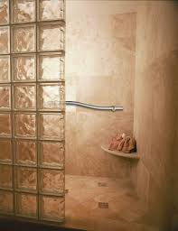 glass block bathroom ideas bathroom fascinating picture of bathroom decoration using corner