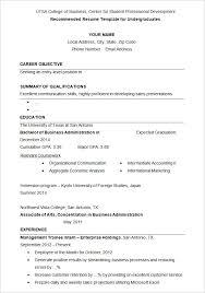 job application cv format resume format for graduate applications
