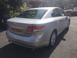 2009 59 toyota avensis 1 8 lpg gas converted manual petrol