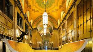 halfpipe to be built inside detroit u0027s fisher building lobby