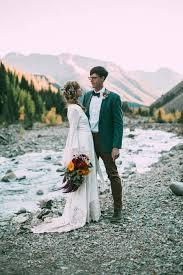 weddings in colorado intimate southwest colorado wedding in the mountains junebug