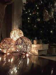 Christmas Light Decorations Twine Spheres Diy Twine Lights And Craft