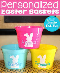 easter pails diy easter baskets the crafting