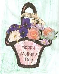 mothers day basket mothers day basket mothers day craft