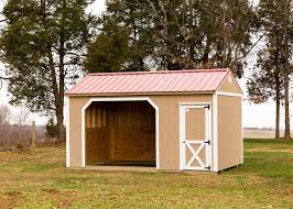 backyard horse barns backyard storage sheds and mini barns