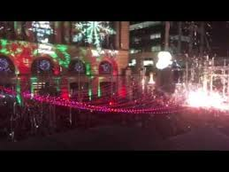 big christmas light switch on in perth city youtube