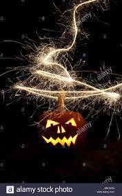 fireworks lantern pumpkin o lantern and fireworks stock