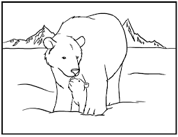 download polar animals coloring pages ziho coloring