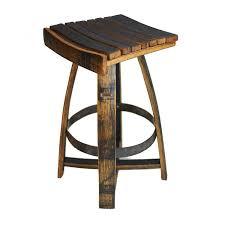 Whiskey Barrel Kitchen Table Whiskey Barrel Bar Stool With Memory Swivel Wine Enthusiast