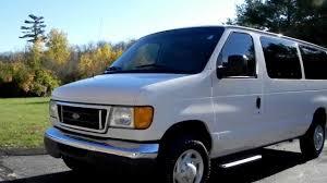 2006 ford e 350 super duty xlt rwd12 passenger van 5 4l v8 gas