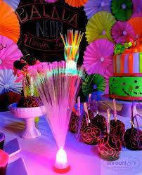neon party ideas neon themed birthday party via kara s party ideas karaspartyideas