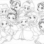 baby disney princess coloring pages coloring pages kids collection