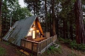 a frame home cozy a frame cabin in the redwoods houses for rent in cazadero