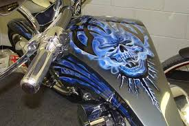 awesome tank paint gas tank totally rad choppers totally rad
