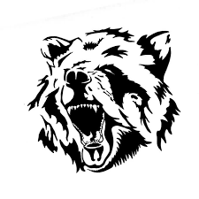 new tribal bear head tattoo design tattooshunter com