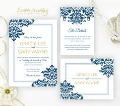 navy blue wedding invitations blue wedding invitations lemonwedding