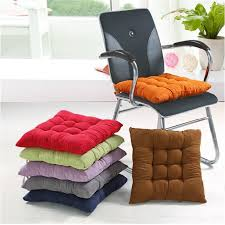 Chair Pads Free Shipping Suede Fabric Bench Cushion Chair Car Seat Thickening