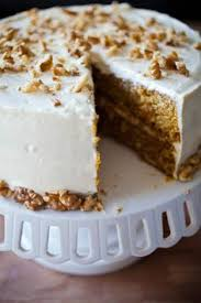 carrot cake with brown butter cream cheese frosting recipe