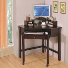 small corner desk with storage storage book shelves added grey