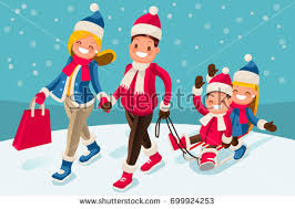 illustration cute cartoon boys playing stock vector 373568041