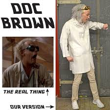 Doc Halloween Costume 24 Doc Brown Costume Images Doc Brown Costume