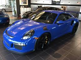 voodoo blue porsche prospective 991 gt3 rs owners discussion forum page 120