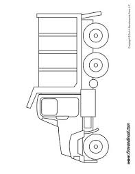 truck coloring tim u0027s printables
