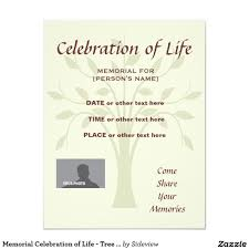 memorial celebration of life burgundy invitatation card celebrations