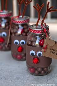 decoration dazzling chocolate and marshmallow jar snowman and
