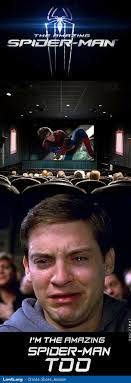 Meme Tobey Maguire - image im the amazing spider man too movie theater meme tobey