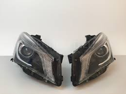 mercedes headlights benz cla class w117 2013 2015 bi xenon headlights