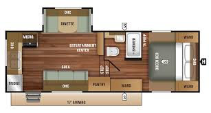 house plan starcraft rv autumn ridge outfitter fifth wheel camper