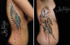 tattoo artist creates impressive freehand tattoos on the spot
