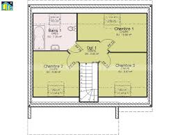plan maison etage 3 chambres maison 80m2 3 chambres etage