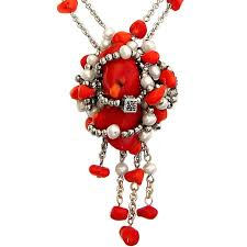 red necklace accessories images Buy coral fashion jewellery online inexpensive red coral necklace sale jpg