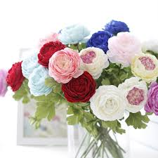 Fake Peonies Aliexpress Com Buy Artificial Peony Flowers Cheap Wholesale For