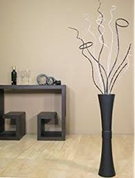 Bamboo Wall Vase Amazon Com Greenfloralcrafts 60