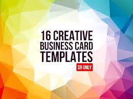 16 creative business card templates graphic pick