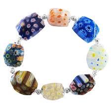 bracelet murano images Murano glass bead bracelet stretchable comfortable bracelet jpg