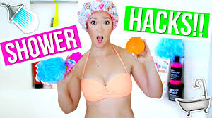 diy hacks youtube diy life hacks for the shower everyone must know alisha marie