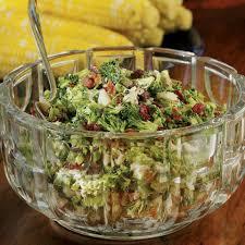 broccoli bacon salad recipe eatingwell