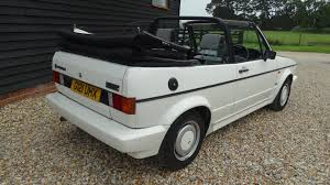 volkswagen golf 1989 used volkswagen golf clipper cabrio mark one 2 doors convertible