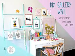 Washi Tape Wall Designs by Have Fun Creating A Gallery Wall With Washi Tape Clever Poppy