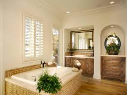 furniture small modern plantation bathroom with long white