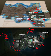 Final Fantasy World Map by World Map Detailed Final Fantasy Xv Message Board For
