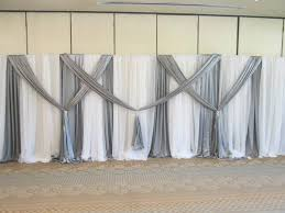 pipe and drape backdrop diy wedding crafts a large scale pvc backdrop diy